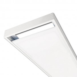 Kit de superficie Panel LED 120x30cm Blanco