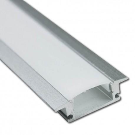 Perfil Aluminio para Tira LED -CON ALAS- 2 metros