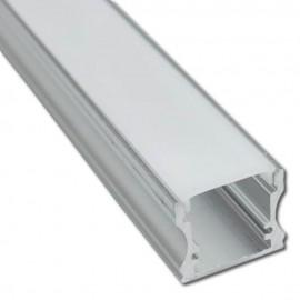 Perfil Aluminio HIGH U para Tira LED 2 metros