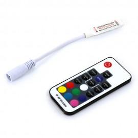 Controlador RGB DC12V/DC24V 144W-288W RF Mini