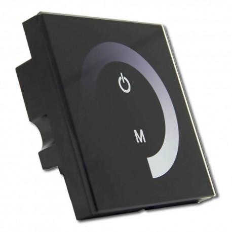 Controlador Táctil Tira LED MONOCOLOR DC12V/24V Empotrable