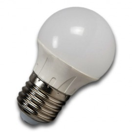Bombilla LED E27 5W 3000K/4500K/6000K ESFÉRICA