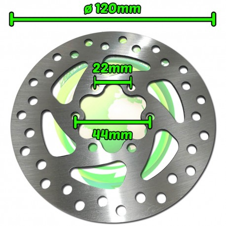 Disco de Freno Patinete Eléctrico Diámetro 120mm