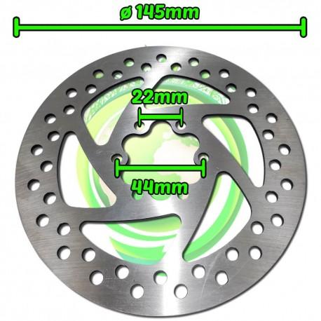 Disco de Freno Patinete Eléctrico Diámetro 145mm