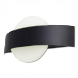 Aplique LED Lasa 8W 4000K Negro