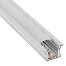 Perfil Aluminio HIGH -CON ALAS- para Tira LED 2 metros