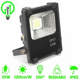 Proyector LED exterior 10W IP65 PROFESIONAL