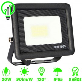 Proyector LED exterior ECO 20W IP65