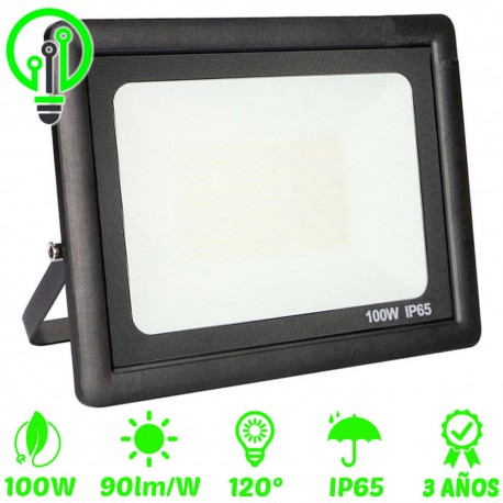 Proyector LED exterior ECO 100W IP65