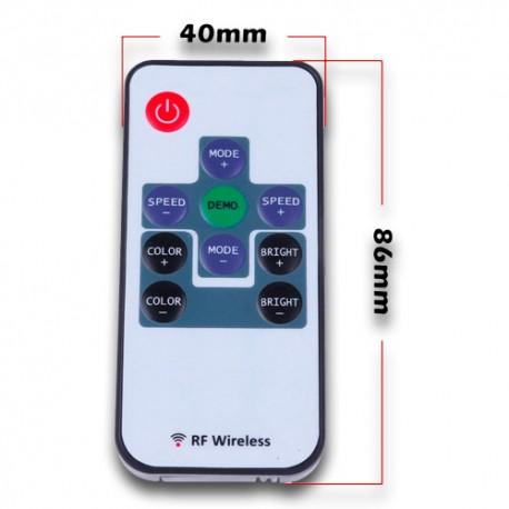 Controlador RGB DC12V 144W RF