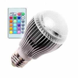 Bombilla LED E27 5W RGB ESFÉRICA