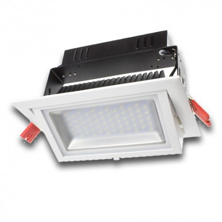 Downlight LED 38W Rectangular Orientable