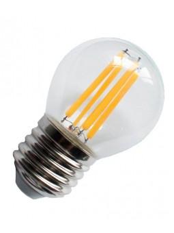 Bombilla Filamento LED E27 4W 2700K ESFÉRICA G45