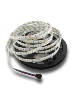 Tira LED SMD 5050 DC12V RGB IP65