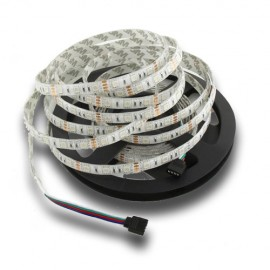 Tira LED SMD 5050 DC12V RGB IP65