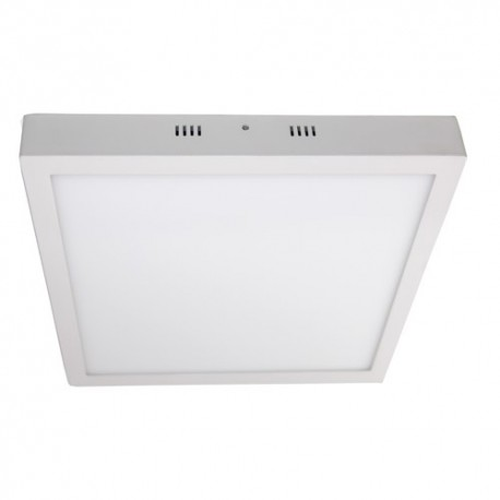 Plafón superficie LED 24W cuadrado blanco