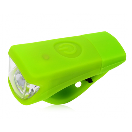 Linterna LED frontal bicicleta recargable