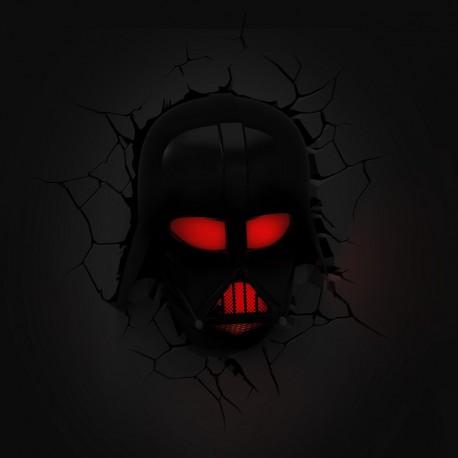 Lámpara LED 3D Darth Vader