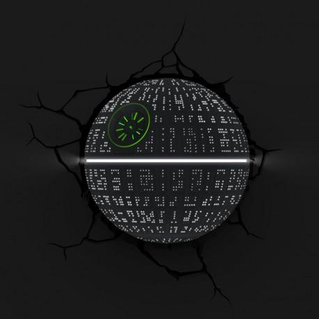 Lámpara LED 3D Death Star