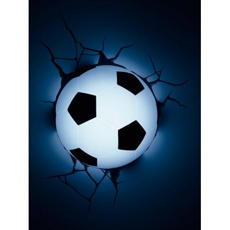 Lámpara LED 3D Balón Fútbol