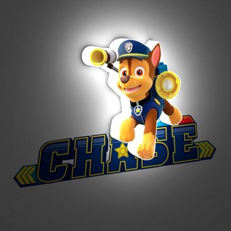 Lámpara LED 3D Mini Chase Paw Patrol