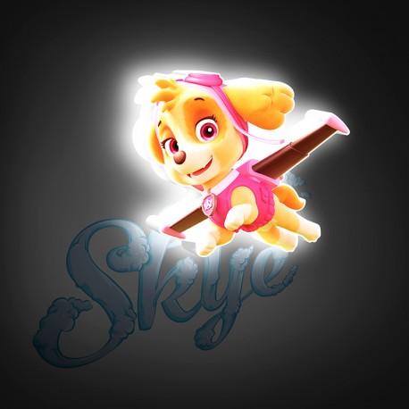 Lámpara LED 3D Mini Skye Paw Patrol