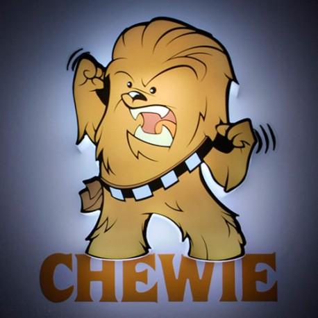 Lámpara LED 3D Mini Chewbacca