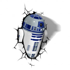 Lámpara LED 3D R2-D2