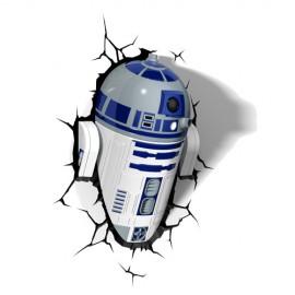 Lámpara LED 3D R2-D2
