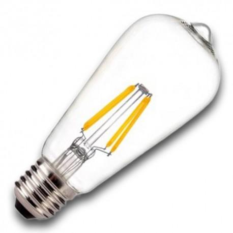 Bombilla Filamento LED E27 5.5W 2400K EDISON