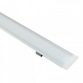 Perfil Aluminio para Tira LED -CON ALAS- 1 metro