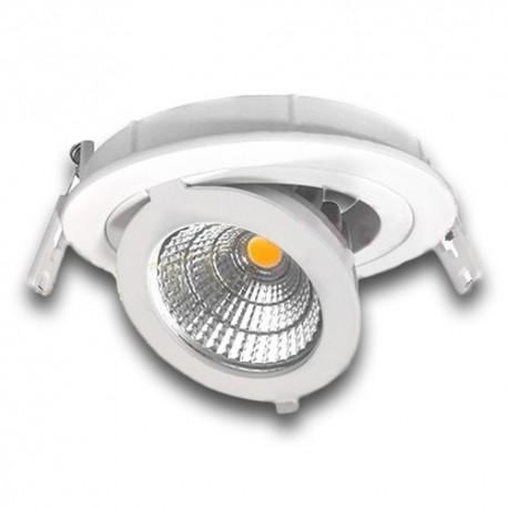 Downlight LED 12W orientable 3000K