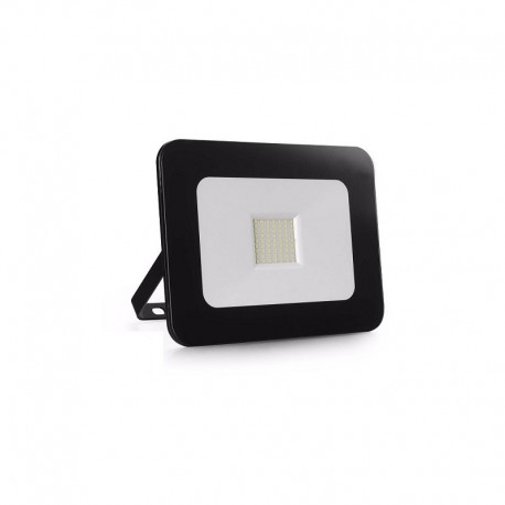 Proyector LED exterior 20W IP65 SLIM-DESIGN NEGRO