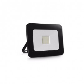 Proyector LED exterior 30W IP65 SLIM-DESIGN NEGRO