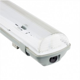Pantalla Estanca tubo T8 LED 2*1200mm IP65