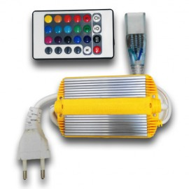 Controlador Tira LED SMD 5050 RGB AC220V INFRARROJOS