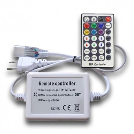 Controlador Tira LED SMD 5050 RGB AC220V RF