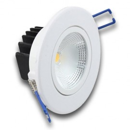 Downlight LED 5W orientable redondo blanco