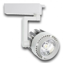 Proyector LED 30W carril monofásico 60º