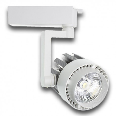 Proyector LED de carril monofásico 60º