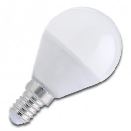 Bombilla LED E14 6W 3000K/4500K/6000K ESFÉRICA