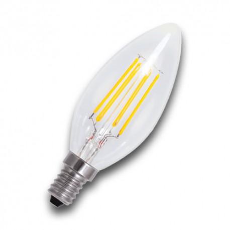 Bombilla Filamento LED E14 4W 2700K VELA