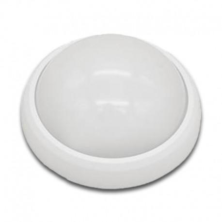 Plafón Superficie LED 8W Blanco IP54 uso exterior 4200K/6000K