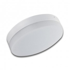 Plafón LED superficie 18W redondo blanco Wideangle