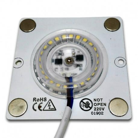 Módulo LED 10W 6000K AC220V regulable