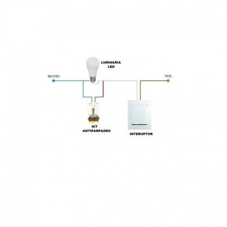 Kit Antiparpadeo LED