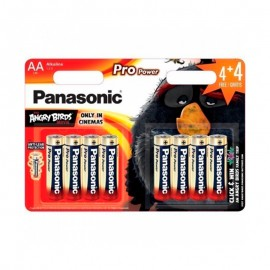 Pilas Panasonic Pro Power AA LR6 4+4 UDS