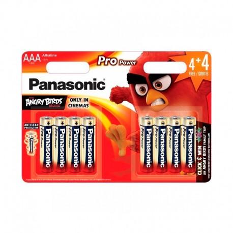 Pilas Panasonic Pro Power AAA LR03 4+4 UDS