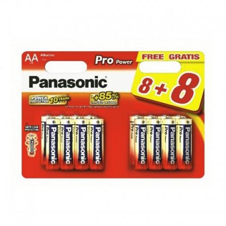 Pilas Panasonic Pro Power AA LR6 8+8 UDS
