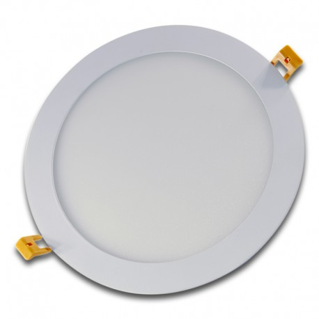 Panel LED 20W redondo blanco